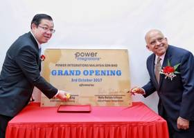 power integrations expands asian presence with new production-support and r&d center in malaysia