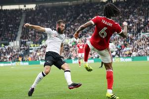 talking point: you can sense joe ledley's growing influence on the derby county team