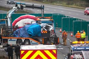 Police give update on family after M5 horror crash near Bristol killed four people, including their dad