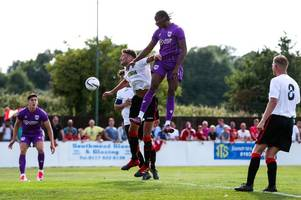 bristol city's shawn mccoulsky can't stop scoring for newport county