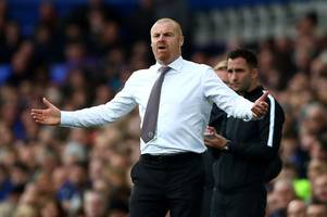 sean dyche is bookmakers' new favourite to be next leicester city boss as his odds dramatically shorten
