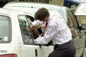 road rage: teenager punched through car window by audi a3 driver
