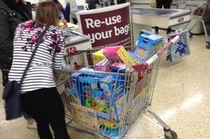 parents to go half-price christmas toys crazy at cornwall sainsbury's