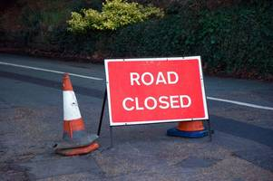 A1077 closed in both directions after accident