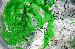 weather forecast: 'dangerous' 70mph gusts could signal arrival of 'storm brian' this weekend - just days after the uk endured hurricane ophelia