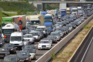 m5 crash in somerset between two lorries caused the worst disruption and longest tailbacks this year in britain