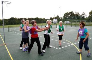 walking netball sessions aimed at the elderly to be rolled out across burton and uttoxeter