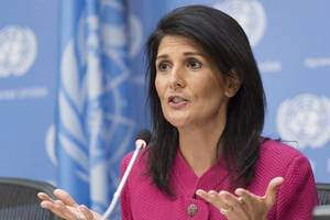 On Iran, U.S. Asks U.N. Security Council: 'Where's The outrage?'
