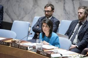 US Announces It Will Push UN Security Council To Renew Syria Toxic Gas Inquiry