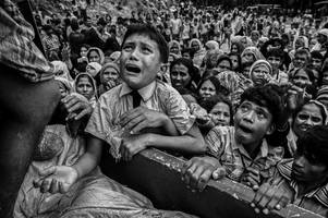 harrowing images reveal living hell faced by rohinga refugees fleeing ethnic cleansing