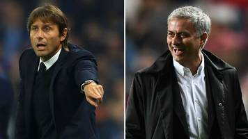 Jose Mourinho must look at Manchester United, not Chelsea, says Antonio Conte