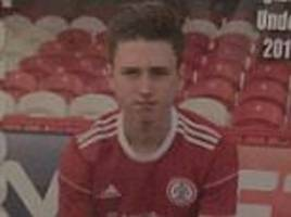 accrington stanley academy player, 15, died suddenly