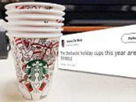 Reddit user reveals the Starbucks holiday cup
