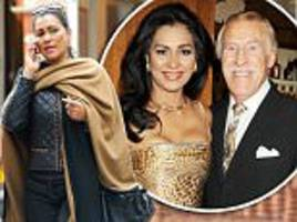 sir bruce forsyth's widow pictured for the first time