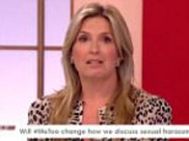 penny lancaster reveals she was the victim of a sex attack
