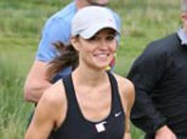 pippa's new fitness fad is the trx 'straps' system