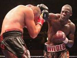 hearn proposes wilder-whyte fight and winner gets aj bout
