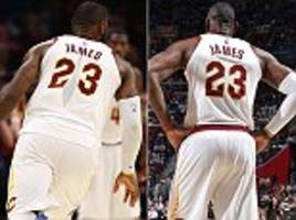 nike investigate how lebron james' jersey ripped