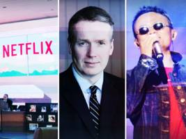 THE BOTTOM LINE: Unstoppable Netflix, red-hot banks, and talking shop with a $6 trillion investment chief