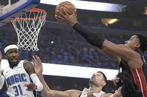 Magic withstand massive game from Hassan Whiteside, beat Heat in season opener