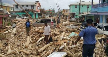 hurricane ravaged dominica: it's all gone and fighting for survival