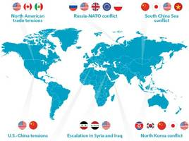 these are the top geopolitical risks according to the world's largest asset manager