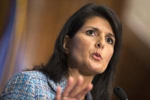 us pushes un to follow tougher stance on iran