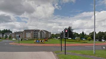 woman killed by car at east kilbride roundabout