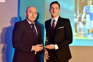 tom lockyer and darrell clarke scoop prizes at bristol post sports awards event