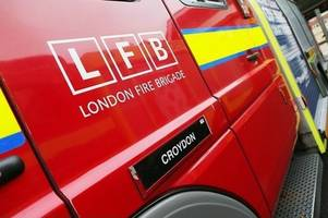 Croydon homes evacuated after concerns propane gas cylinders could have exploded in house fire