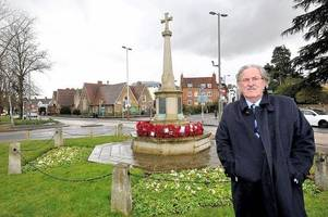 Esher war memorial to be moved next year to avoid further accidents at notorious junction