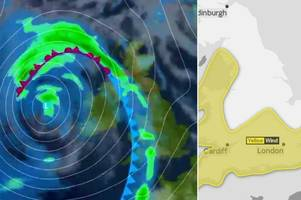storm brian: uk braces for 'weather bomb' as 80mph winds and heavy rain forecast just days after hurricane ophelia