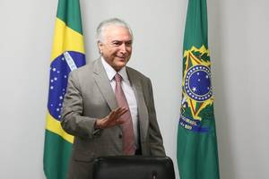 Congressional Committee Rejects Corruption Charges Against Brazilian President