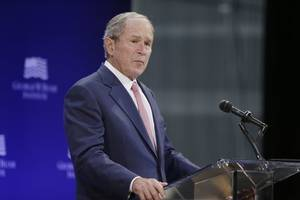 George W. Bush Warns About Confronting Russian Cyber Threats, Bigotry