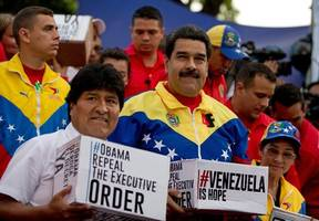opposition politicians go abroad to decry voter fraud back home in venezuela