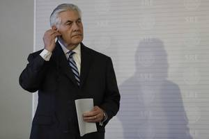 U.S. Secretary of State Rex Tillerson to visit India between Oct 20 to 27