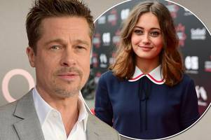 brad pitt 'has a new british girlfriend' - and she's 32 years younger than him