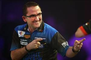 darts: ross montgomery eyes michael van gerwen test in grand slam of darts