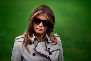 has melania trump been replaced by a body double? conspiracy theorists think so