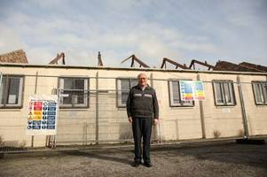storm ophelia leaves castle douglas youngsters in limbo after roof blown off busy hall