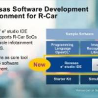 Renesas Electronics Unveils Integrated Software Development Environment for ADAS and Automated Driving