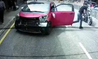 police searching for owner of pink toyota iq with 1ce baby plates in hong kong