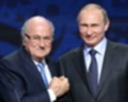 blatter accepts putin invitation to 2018 world cup