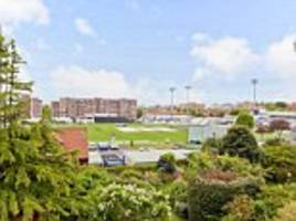 hove two-bed flat overlooking sussex ccc for sale at £500k