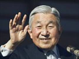 japan's 83-year-old emperor 'will abdicate in 18 months'