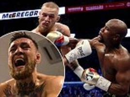 Inside Conor McGregor's camp for Floyd Mayweather showdown