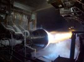 blue origin successfully tests the be-4 rocket engine