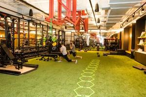 WeWork, the most valuable startup in New York City, just opened its first gym — and it looks gorgeous