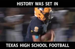 Matt Gadek sets new Texas High School Football Rushing Record with 592 yards | The Scoop