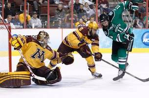 mcleod hockey blog: gophers-north dakota is a rivalry for the ages